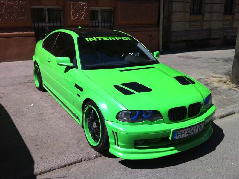 Lime Bmw M3 Gtr Csl Look By Andrey Bmw Bmw M3 Bmw E46