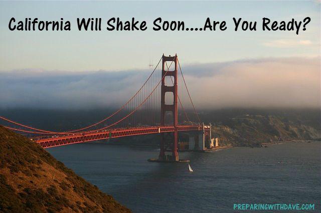 California Earthquake Is Coming