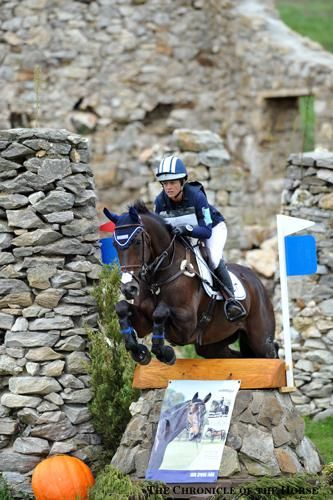 Lynn Symansky and Donner jumped clear around the CIC*** cross-country at Plantation Field, photo by Lindsay Berreth.