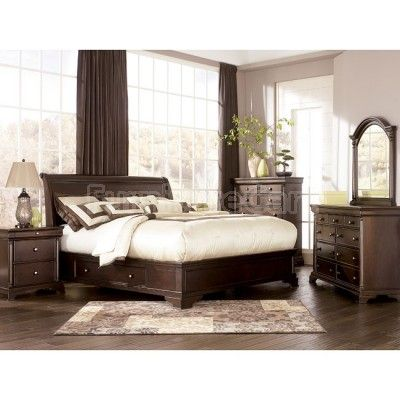 Leighton Sleigh Bedroom Set