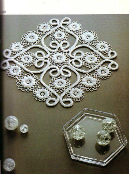 Fancy Crochet Lace----花哨的钩针花边
