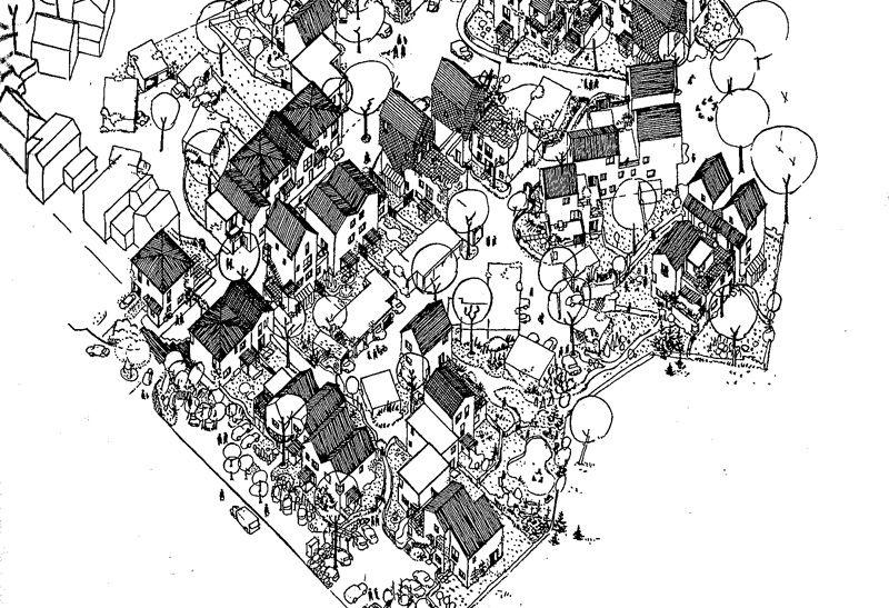 L Appartement Temoin Cartographie Paysage Noir Et Blanc Croquis Dessin