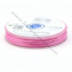 Les cordons en coton ciré GRIFFIN sont devenus un matériau d'enfilage polyvalent et indispensable, tout particulièrement dans la fabrication de bijoux tendance. Nos cordons en coton ciré de qualité supérieure sont caractérisés par un tressage rond et, par conséquent, très peu extensibles et extrêmement robustes et résistants. Vendu par une bobine (20m)