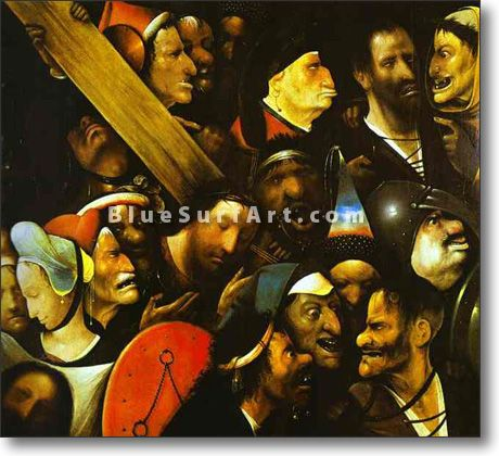 Christ Carrying the Cross - £124.99 : Canvas Art, Oil Painting Reproduction, Art Commission, Pop Art, Canvas Painting