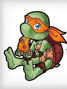 My Michelangelo Tattoo Baby Ninja Turtle Ninja Turtle Tattoos Ninja Turtles