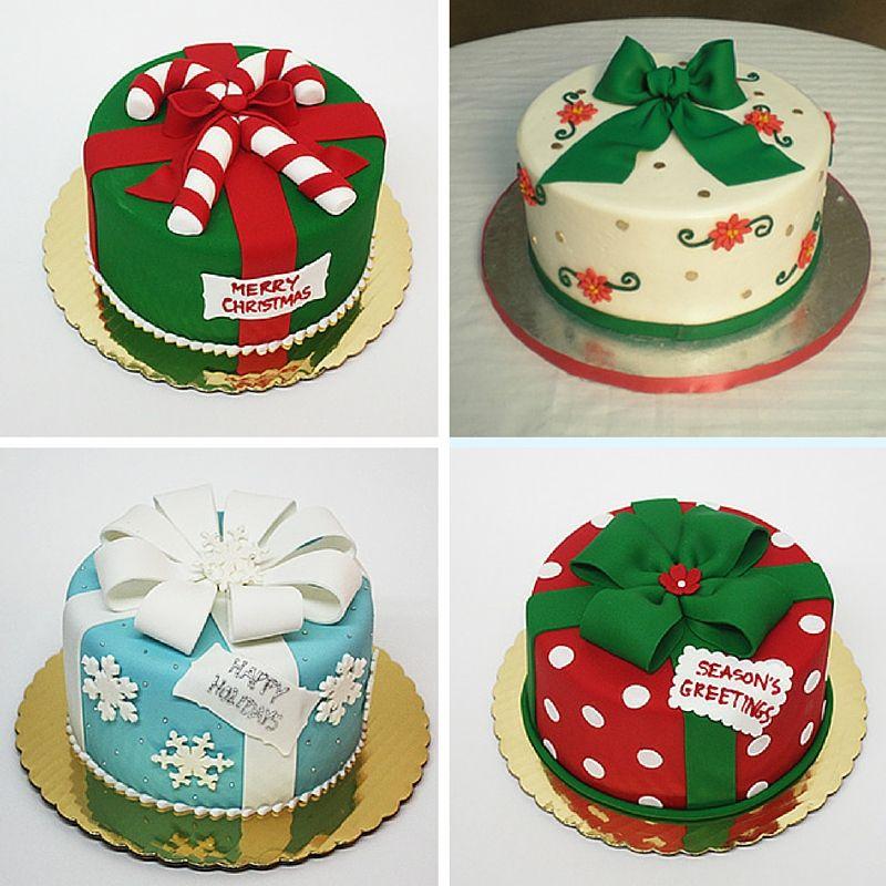 Christmas Cake Designs.Merry Fondant Friday Christmas Christmas Cake