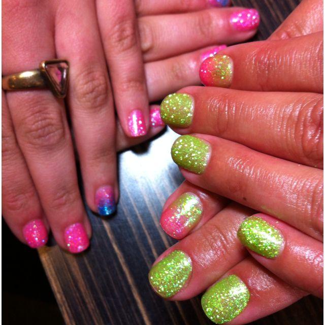 Glitter Gels @Sharon Chisholm Garden Brentwood. so cute!