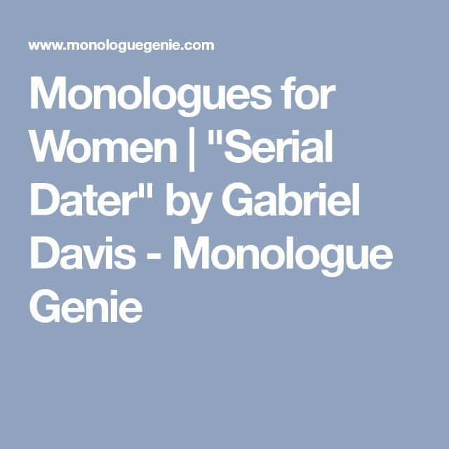 datation monologue