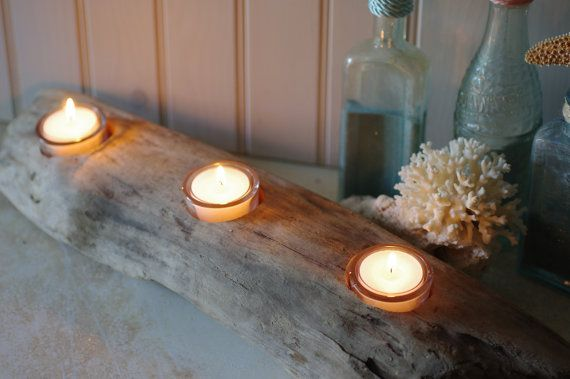 Easy and cute idea for a dining room centerpiece or outdoor patio