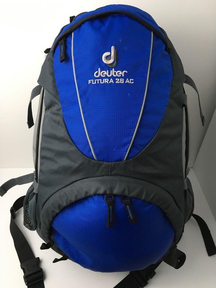 Deuter Futura 28 AC Backpack Hiking Internal Frame Blue Gray ...