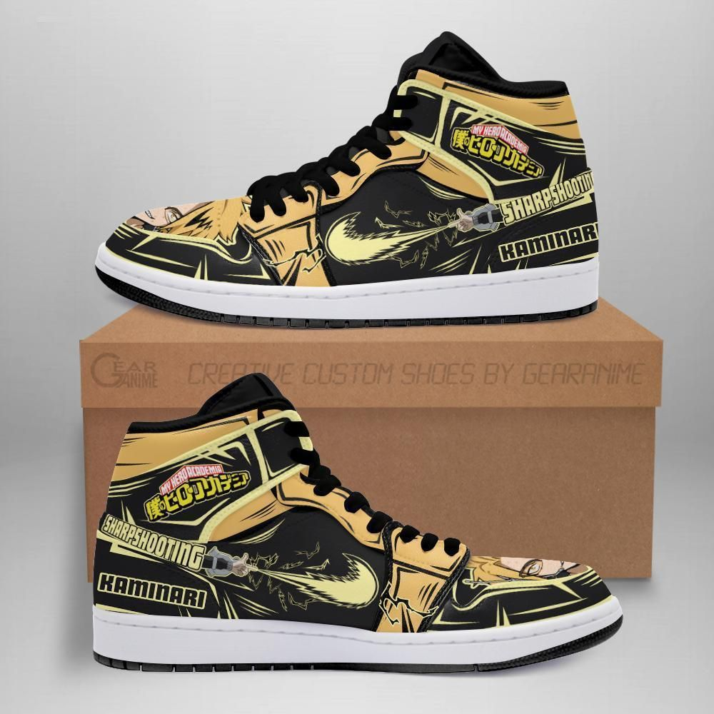 Denki Kaminari Jordan Sneakers Skill My Hero Acade