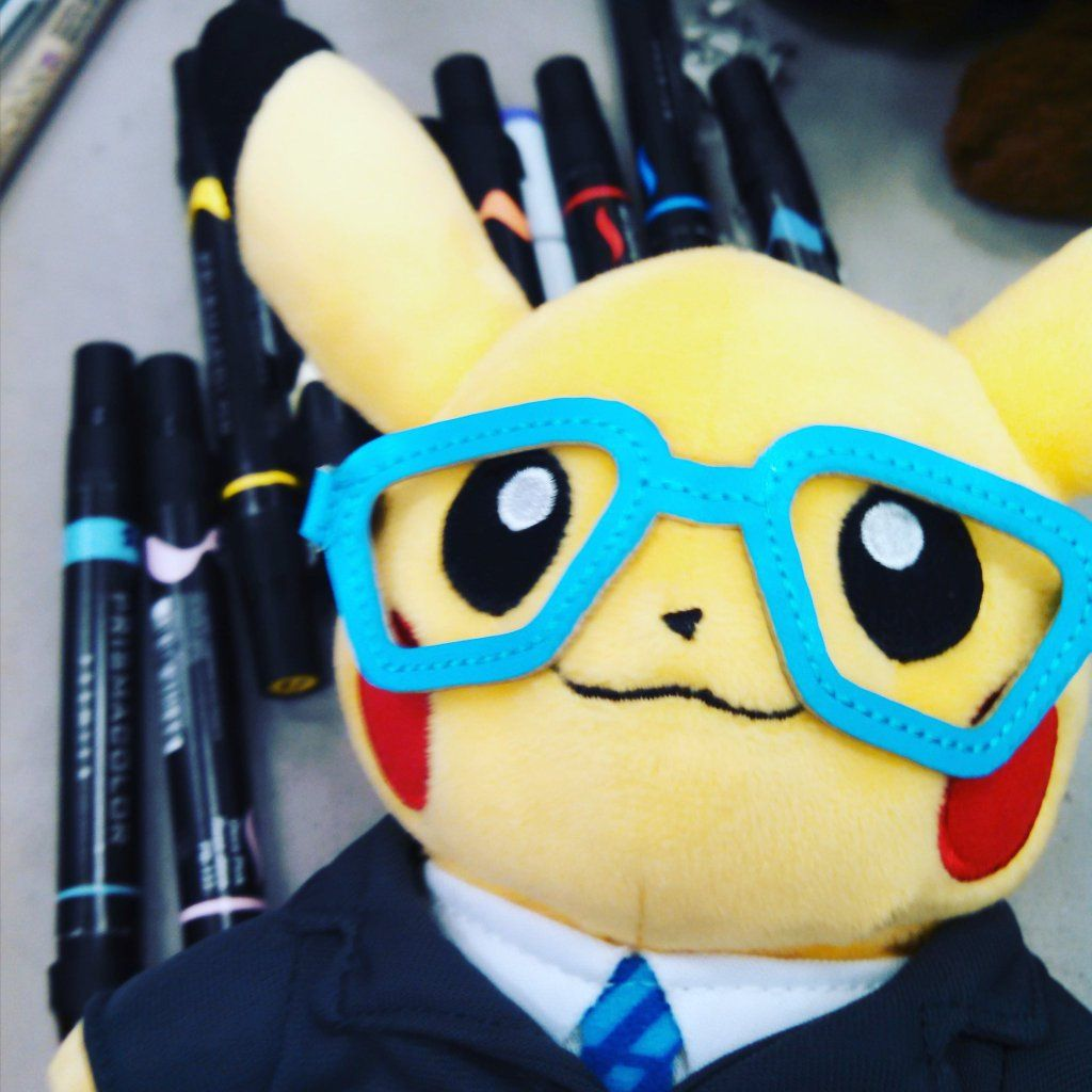 "colormymemory on Twitter: ""#InternPikachu reporting for duty! https://t.co/rOw8dCgZu1"""