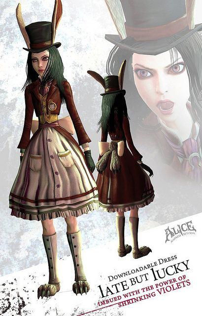 American Mcgee S Alice Madness Returns With Images Alice