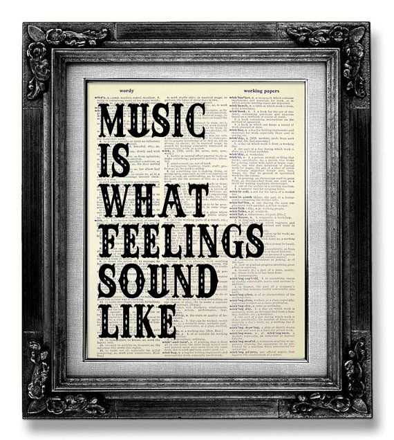 Music Wall Quote Music Wall Saying Music Wall Art Rock Music Art Music Poster Gift For Music Lover Man Him Music Room Decor Rock N Roll Music Room Decor Music Wall