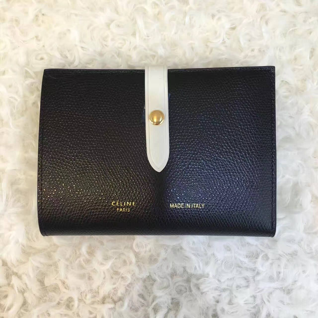 0f08cc753b Celine Medium Multifunction Wallet 100% Authentic 80% Off