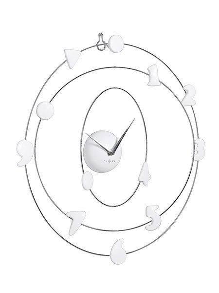 D coration int rieure pendule murale salon design horloge for Horloge originale salon