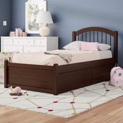 Viv Rae Matt Extra Long Twin Platform Bed With Drawers Loft