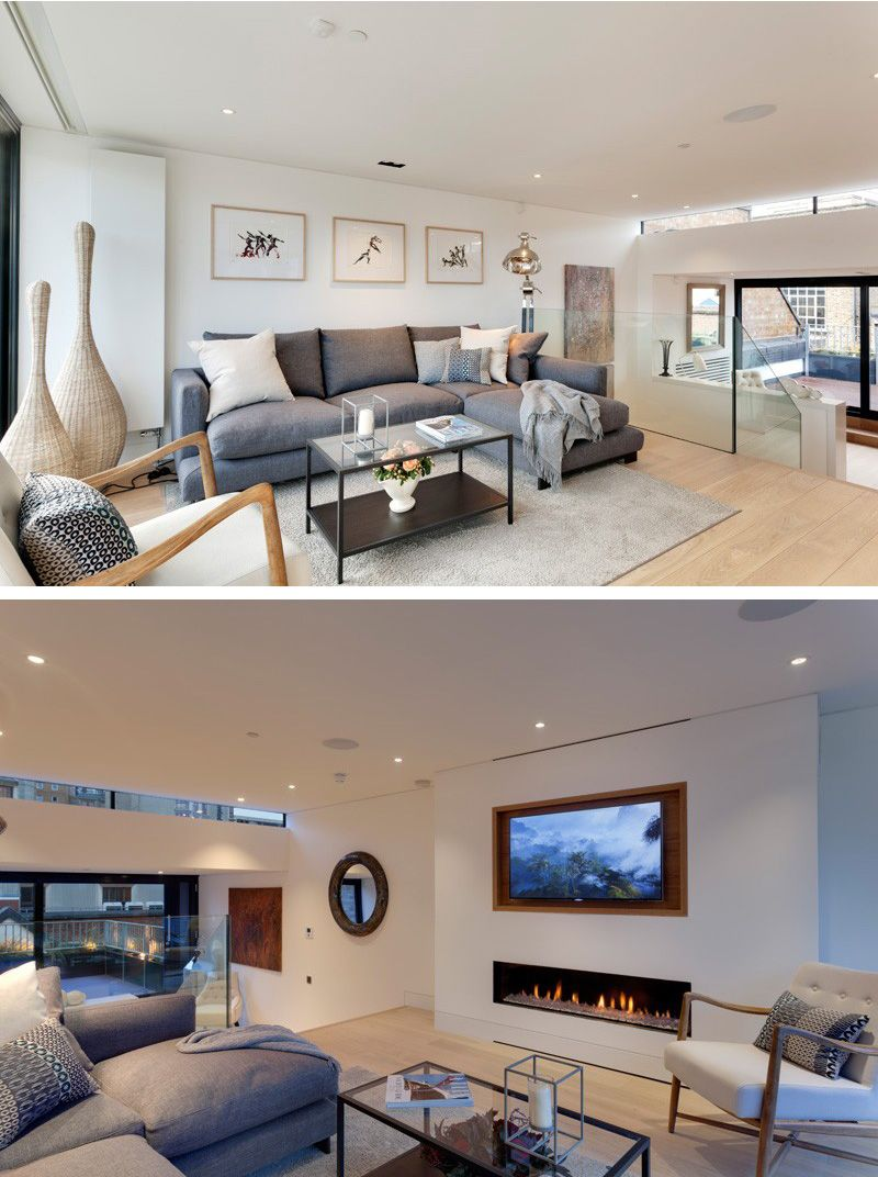 19th Century Drawing Room: A Narrow 19th Century Building Transformed Into