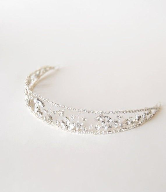 5 Perfect Hair Accessories for a Vintage Bride - Crown by Elibre Handmade
