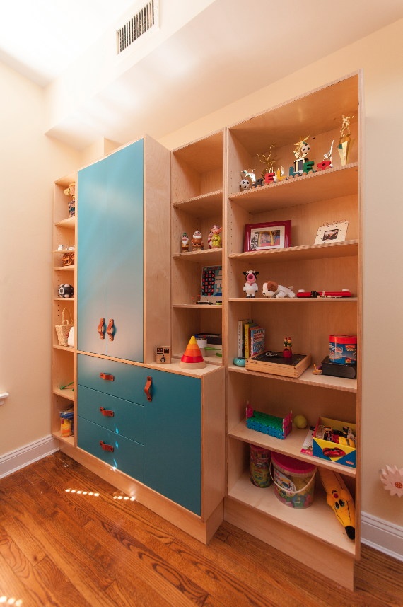 Bookcase Wall Unit Childrens Bunk Beds