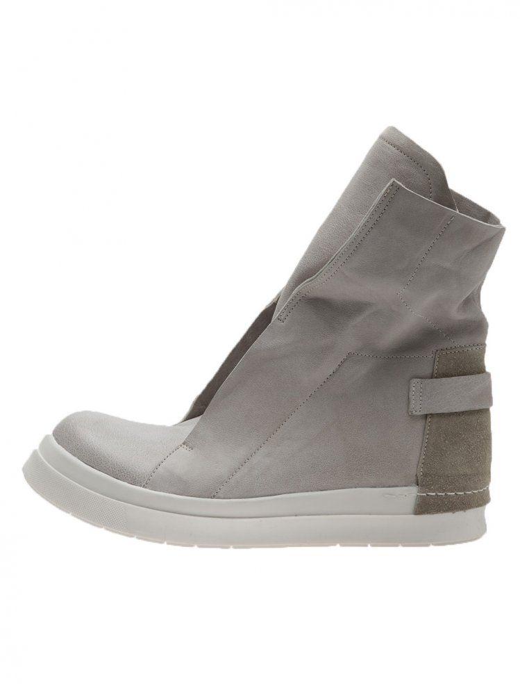 CINZIA ARAIA - Leather Hi-Top Sneaker - CA115/92 MID MOSS - H. Lorenzo