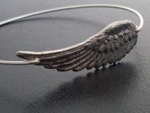 Armreif Engels Flügel - Silver Armband