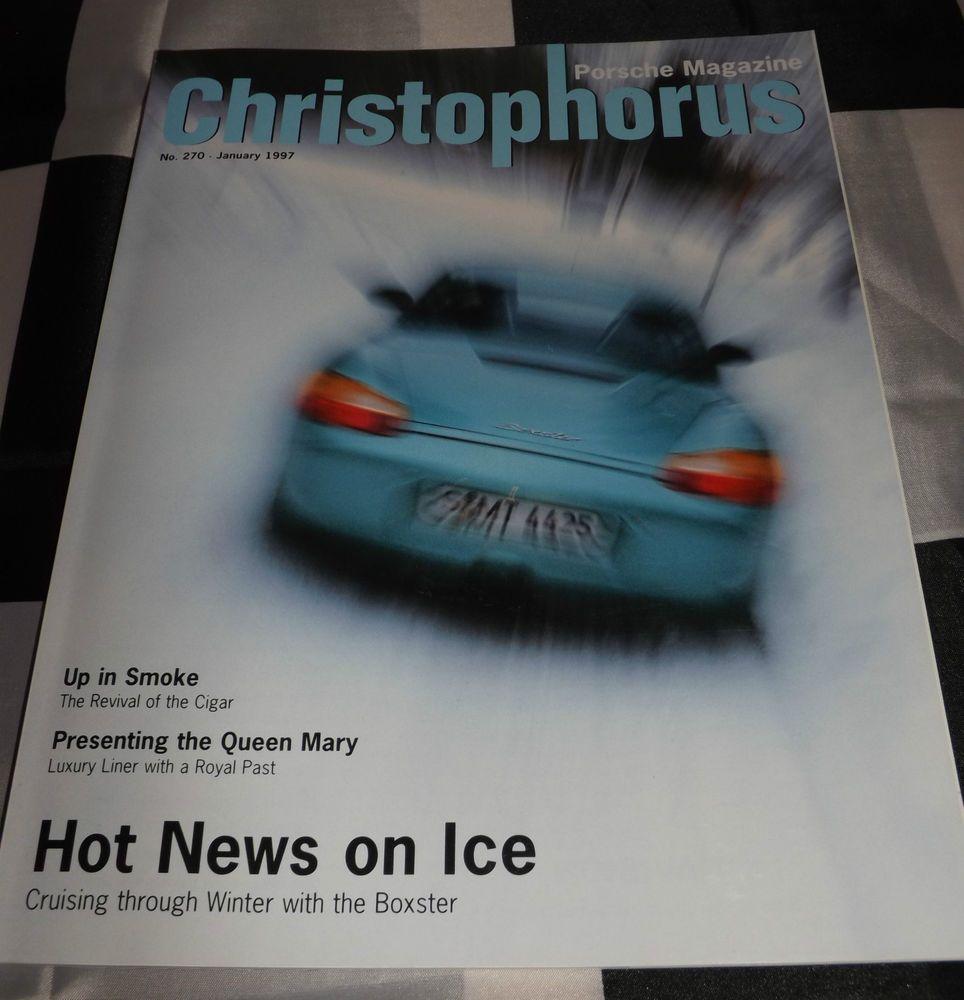 CHRISTOPHORUS PORSCHE MAGAZINE 270 JANUARY 1997 PORSCHE
