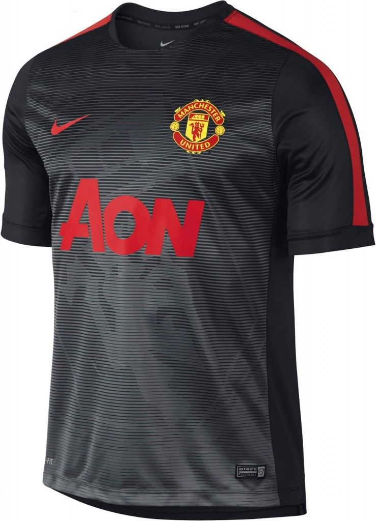 Manchester United 2015 Nike Pre Match Kit Sports Shirts Manchester United Jersey Design
