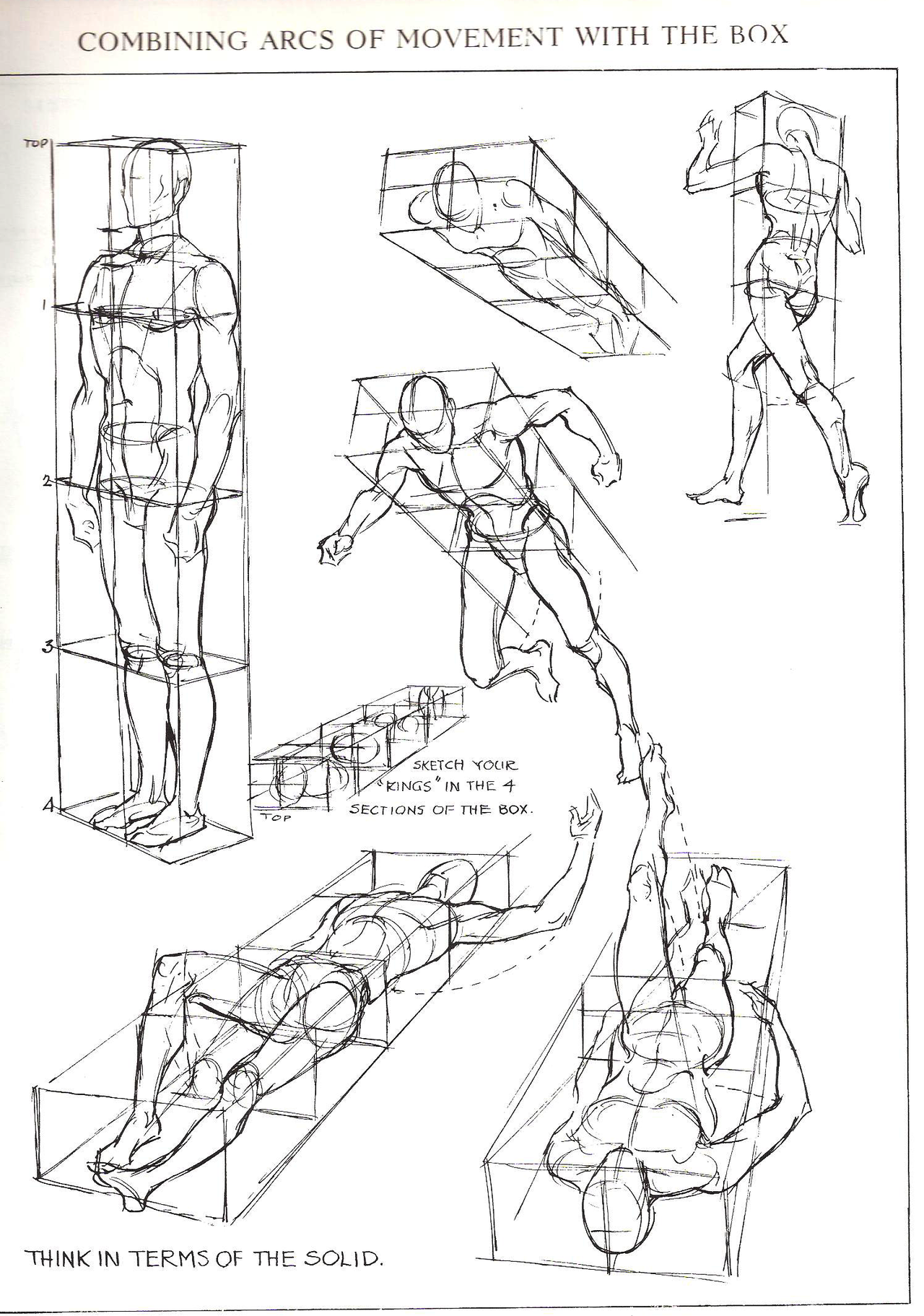 Figures In Perspective From Figure Drawing For All Its Worth By