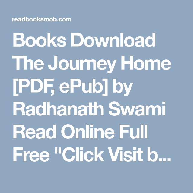 Journey Home Radhanath Swami Pdf