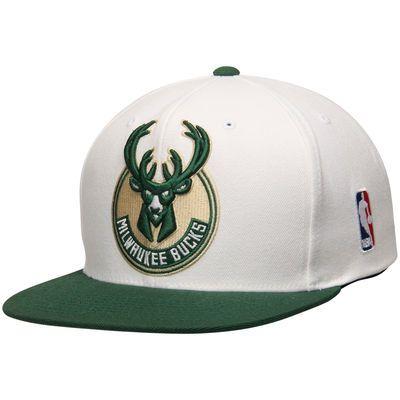 on sale 3272d 36308 ... order mens milwaukee bucks mitchell ness white xl current logo 2 tone  snapback adjustable hat 07b15