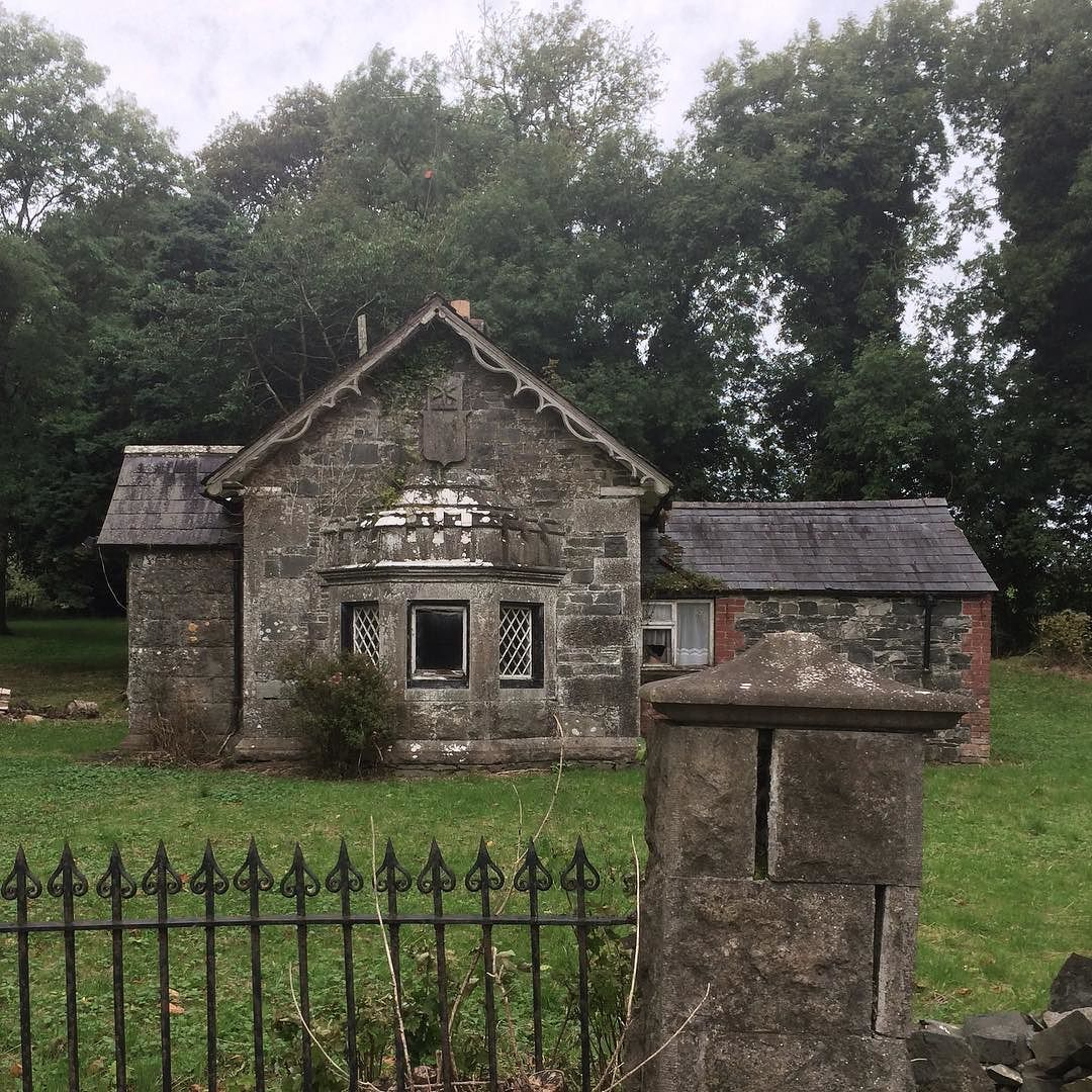 Abandoned Gate Lodge Cloverhill House County Cavan Ireland Gatelodge Cloverhill Cavan Derelict Ruin Theiri Houses In Ireland Hamptons Style The Hamptons