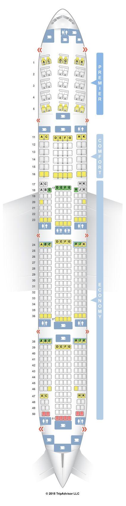 Seatguru Seat Map Aeroflot Boeing 777 300er 773 Sovety