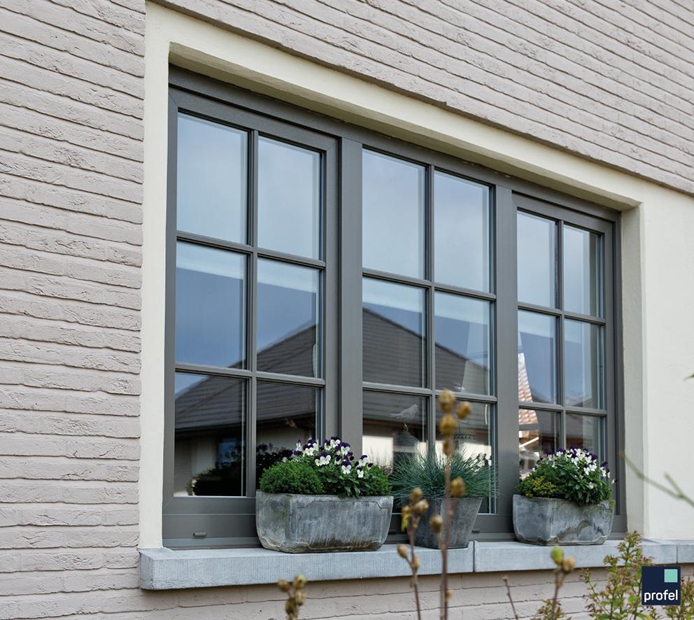 Ongekend Raam in pvc/kunststof #raam #wonen #venster #kozijn #Profel CO-39