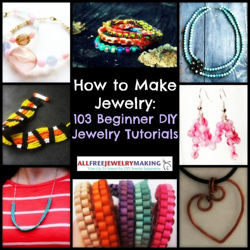 "Photo of ""Jewelry Making for Beginners: 11 Beginner Jewelry Projects"" eBook"