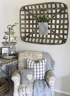 Image Result For Galvanized Tobacco Basket Tobacco Basket Decor