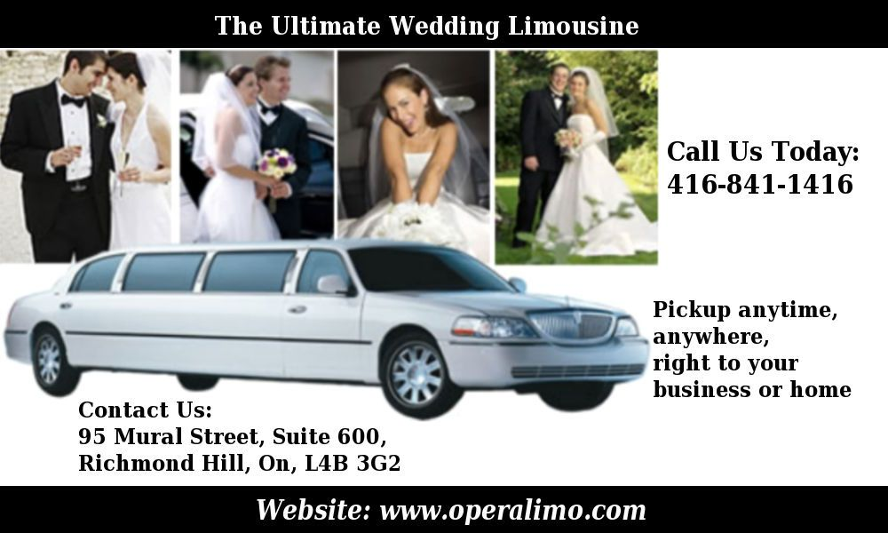 The limousines are classes that can be hired for all types