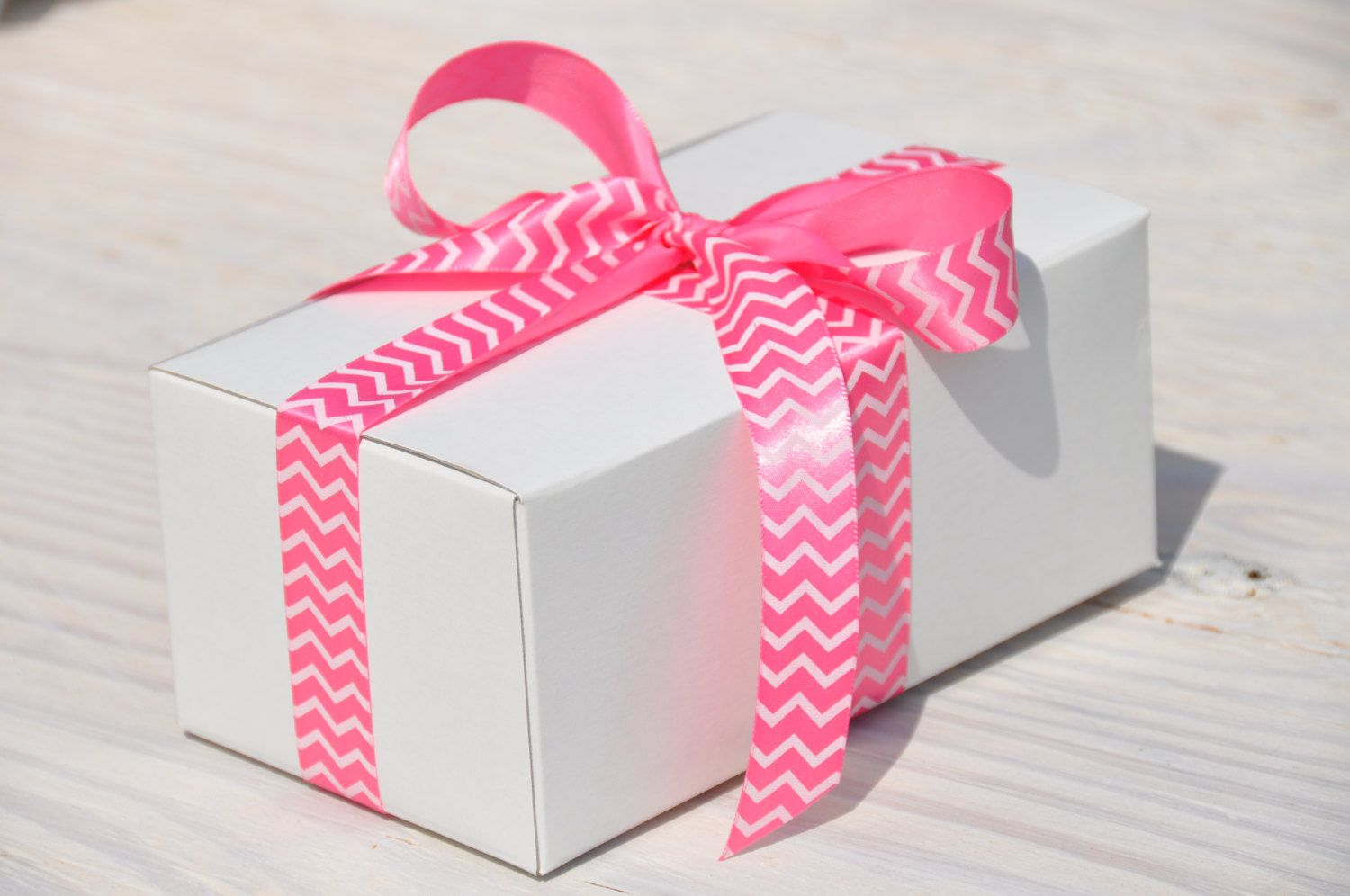10 #White Gift #Boxes 7x4x3 One Piece with Tuck Lid Wedding #Favor ...