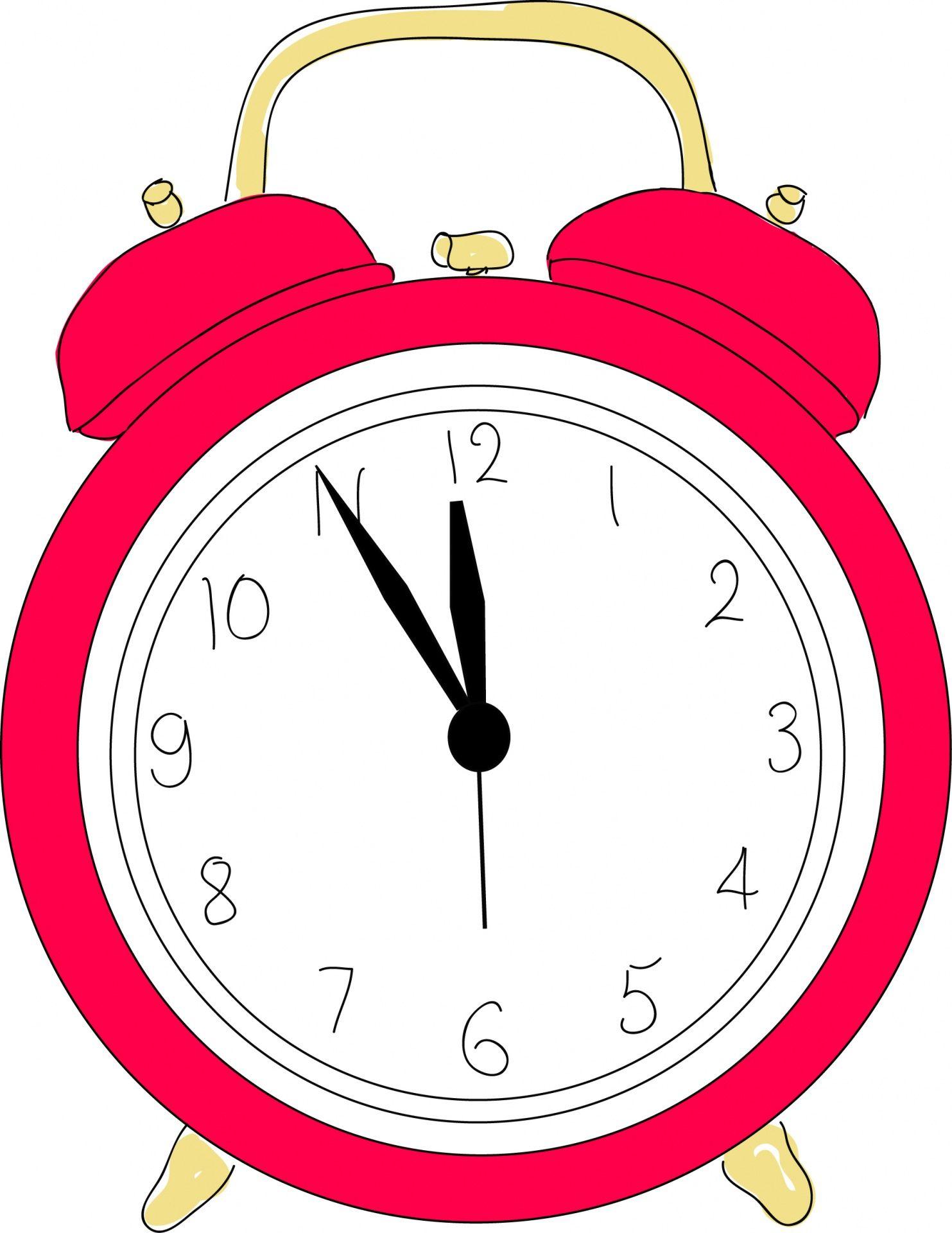Alarm Clock Clipart Free Stock Photo