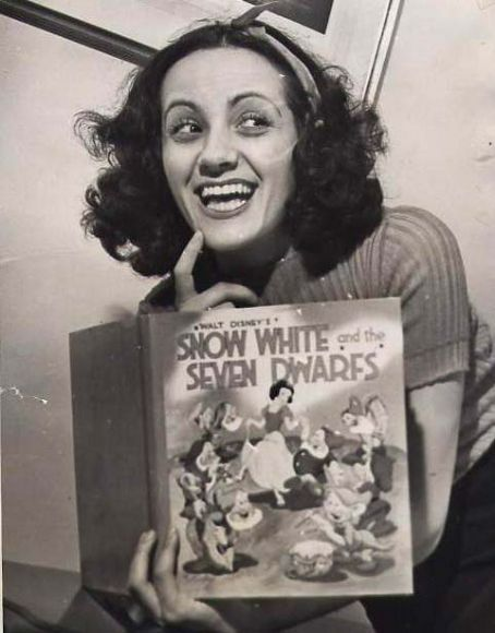 Adriana Caselotti The Voice Behind Very First Walt Disney Film Snow White 1937 It Was Her And Only Role Actress Singer Participated In
