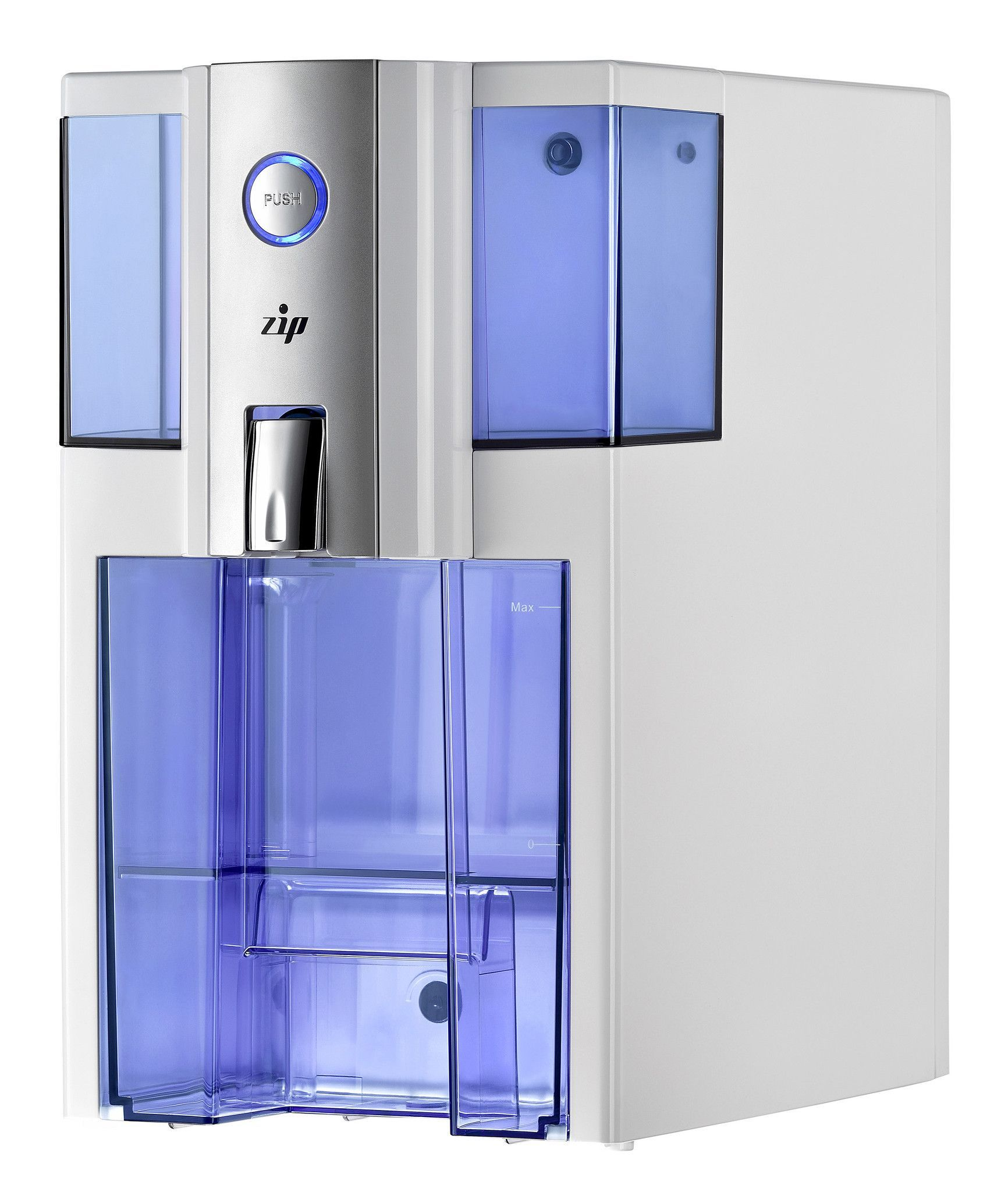 Puricom Zip Countertop Reverse Osmosis Water Filtration System Zip2wht