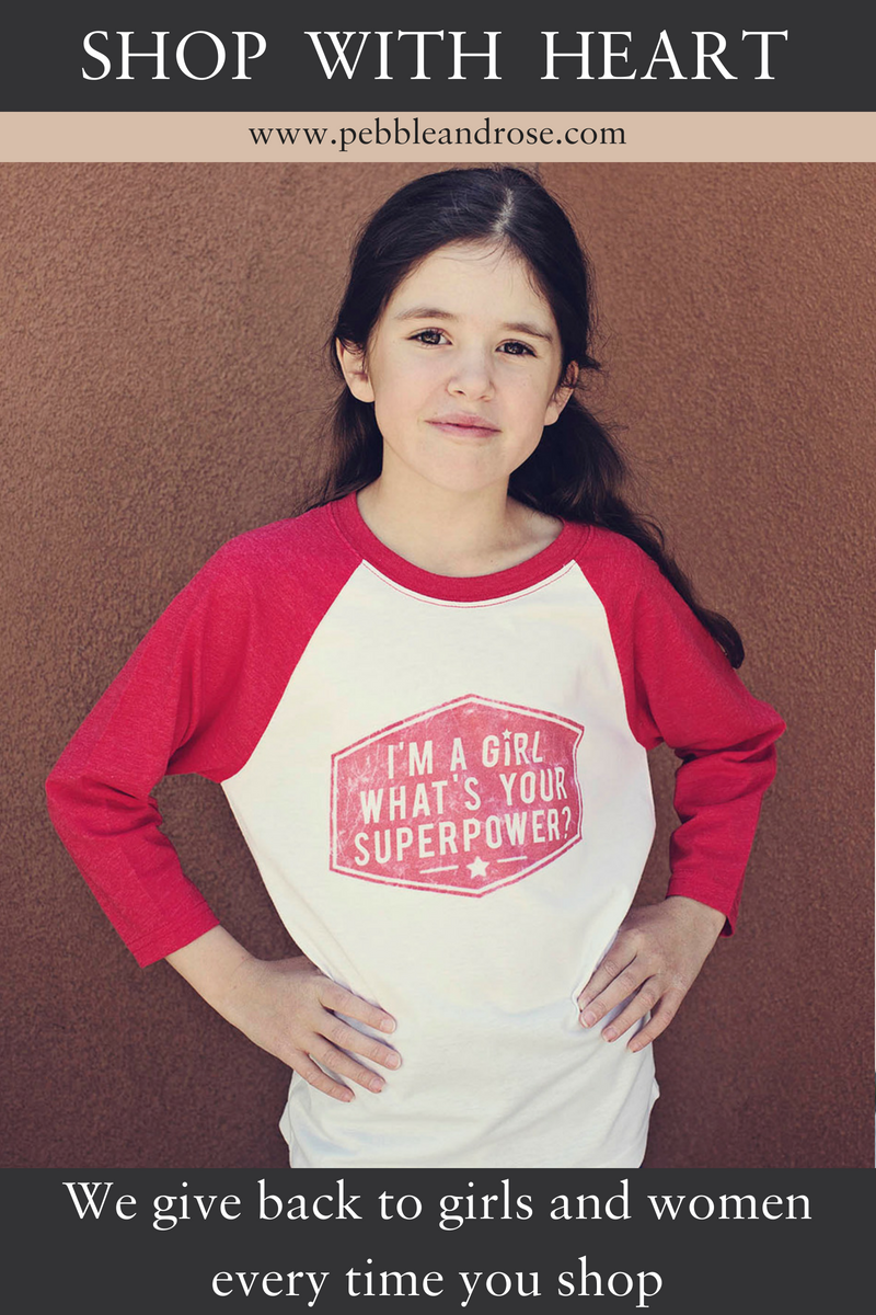 2f549b62d745 The perfect Girl Power Shirt for any young girl in your life. Supersoft  cotton. Available for ages 4 up to 16. On SALE - $19.99 + Ships FREE! Woman-Owned  ...
