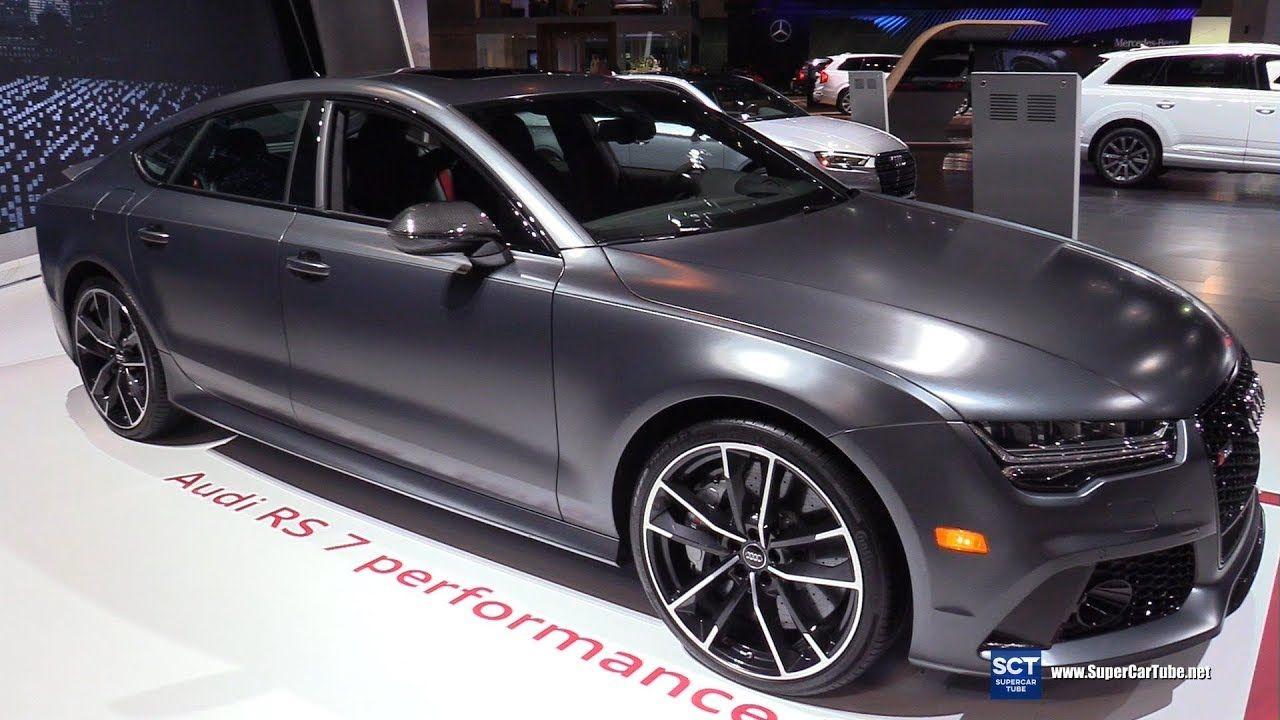 2018 Audi Rs 7 Performance Exterior And Interior Walkaround 2018 Chi Audi Audi Rs Audi Wheels