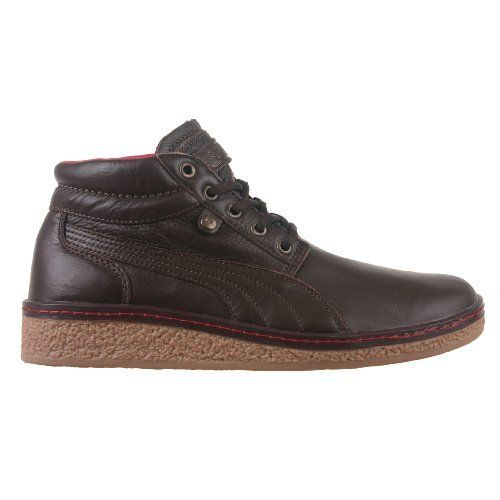 new product 61579 a51f0 Amazon.com  PUMA Men s Ranger LX Hi (Chocolate Brown Red 7.5 M)  Shoes