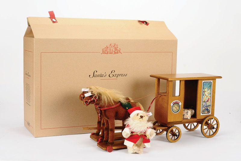 Steiff EAN 037986 Santas Express