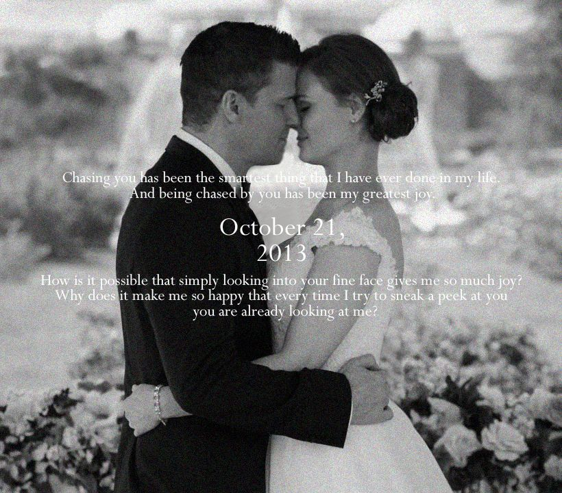 Temperance Quotes: Happy Anniversary, Temperance Brennan And Seeley Booth