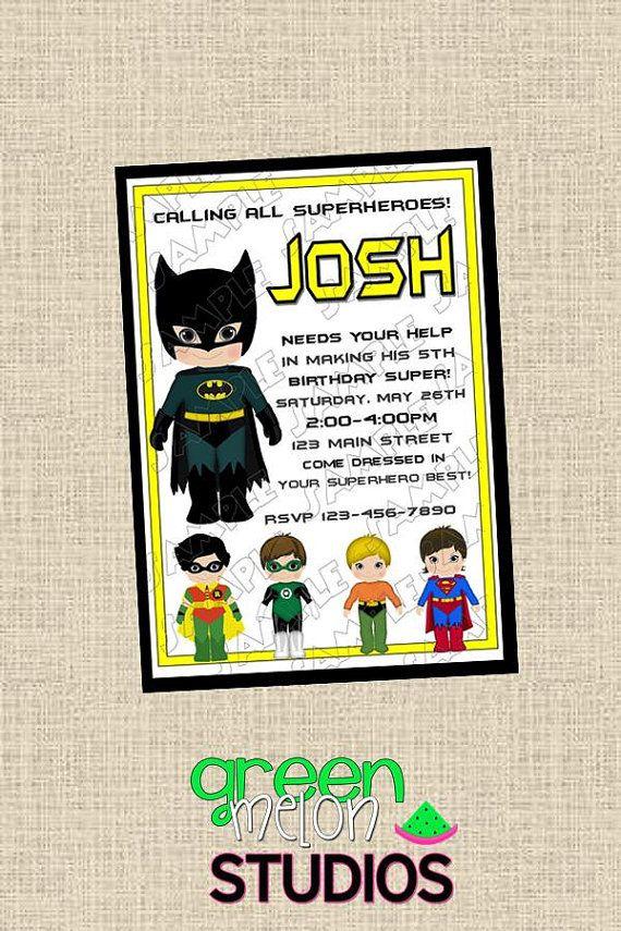 Batman Superhero Inspired Justice League By Greenmelonstudios 950