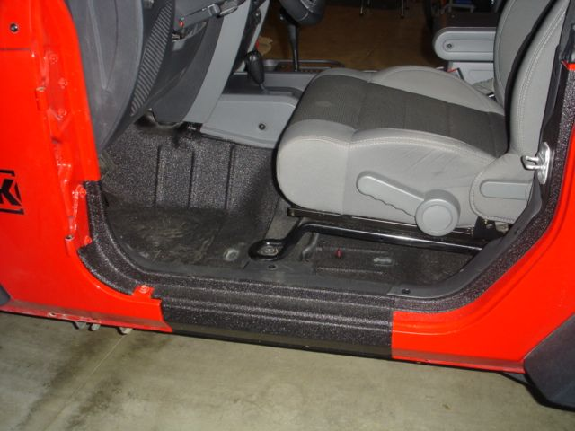 Rhino Lining The Interior Jeep Interiors Jeep Wrangler Interior