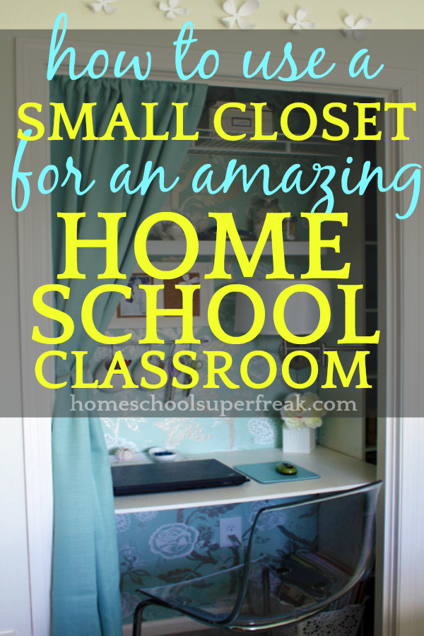 35 Amazing Homeschool Room Ideas For Small Spaces How To Use A Small Closet For A Homes Homeschool Rooms Small Space Homeschool Room Homeschool Organization