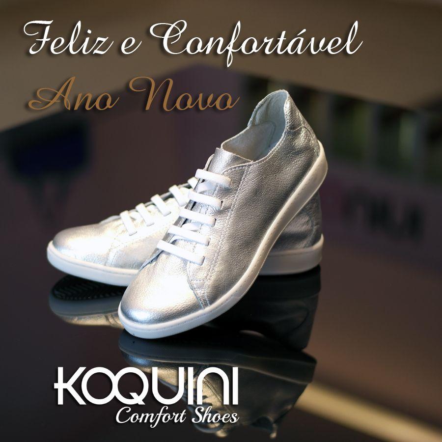 Usando e abusando do conforto na comemoração de Ano Novo #koquini #comfortshoes #euquero #marinamello 😍